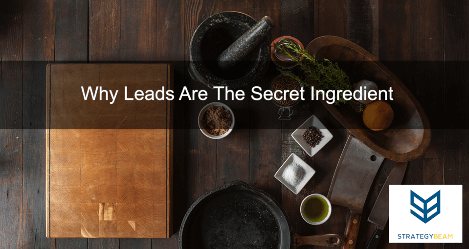 Why Leads Are The Secret Ingredient
