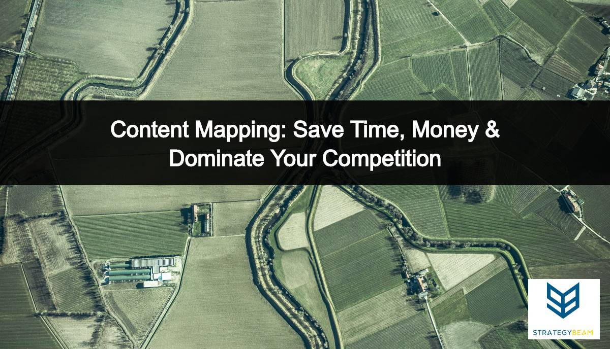 content mapping digital marketing content map strategybeam