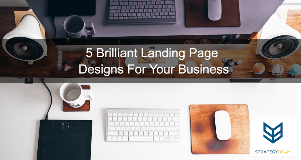landing page design business small business online marketing strategy landing page tips