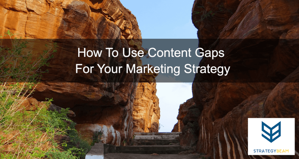 marketing strategy business owners content gaps for relevant content marketing