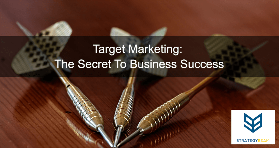Target Marketing The Secret To Business Success small business marketing www.strategybeam.com