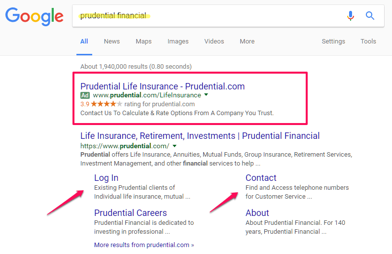 prudential scam ppc strategy to overcome bad pr for business