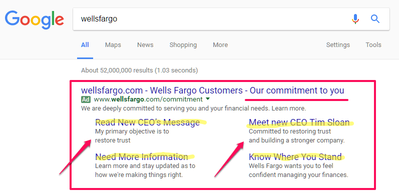 google adwords ppc strategy business overcome negative pr