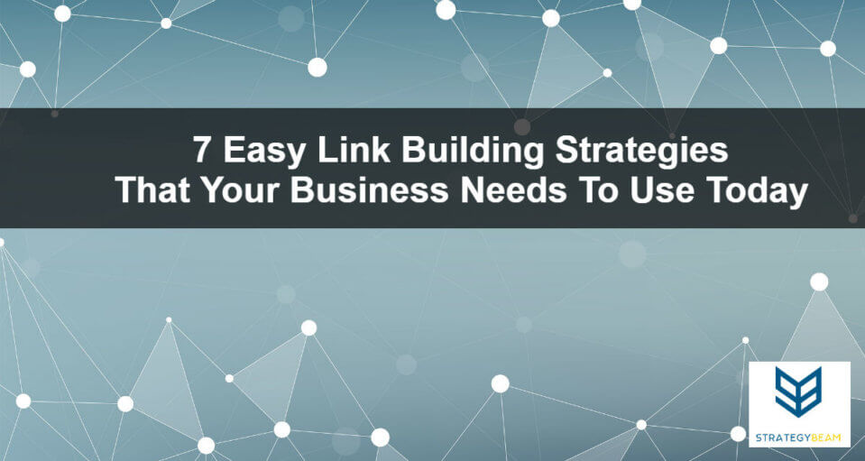 link building strategies seo strategy small business online marketing link building