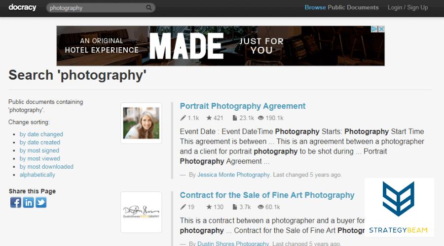 free marketing tools photography docracy free online marketing tools photographers www.strategybeam.com