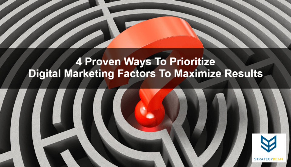 digital media factors prioritize online marketing strategy digital marketing factors