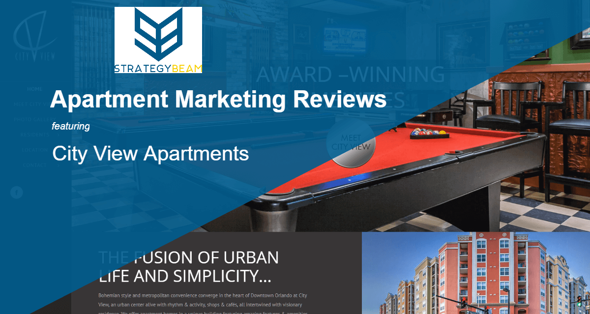 Apartment marketing reviews city view strategybeam for Apartment reviews