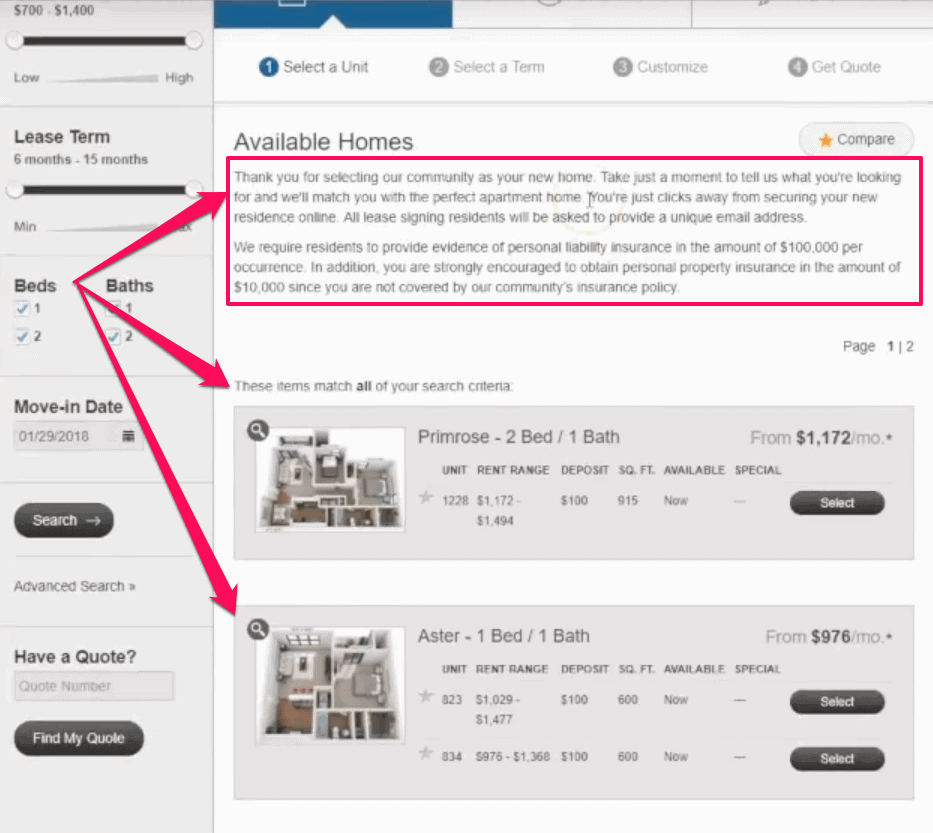 apartment marketing ideas website review rosehill apartment orlando fl apartment marketing tips