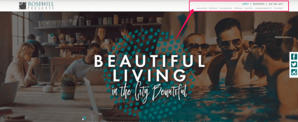 apartment website review rosehill apartment review apartment marketing ideas