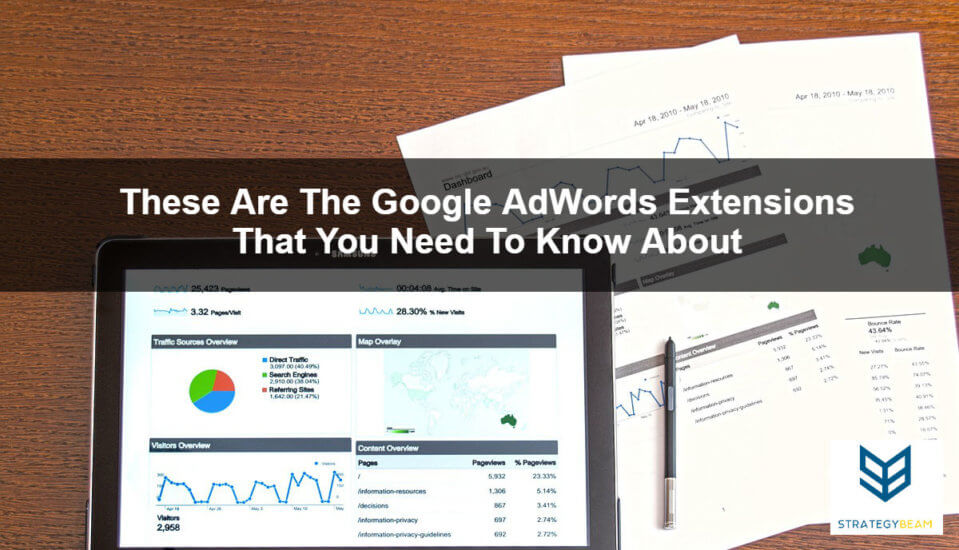 everything that you need to know about Google AdWords extensions PPC marketing AdWords management
