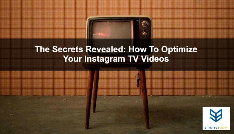 instagram tv optimization tips how to optimize igtv shows