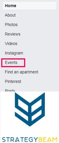facebook events apartment marketing plan