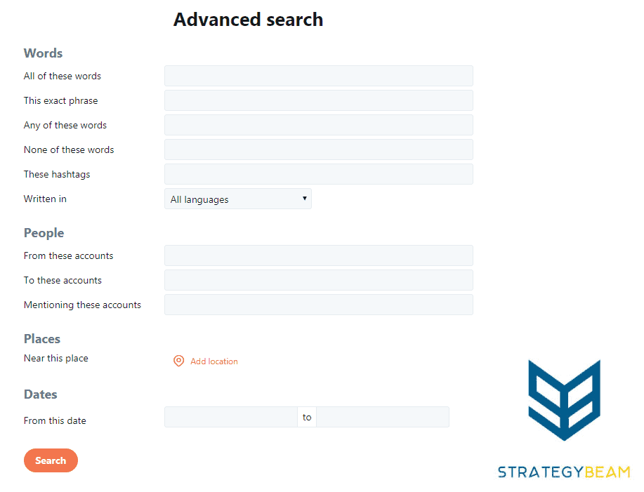 twitter advanced search online apartment marketing