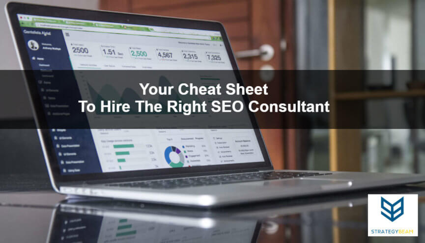 how to hire seo consultant seo marketing online marketing strategybeam