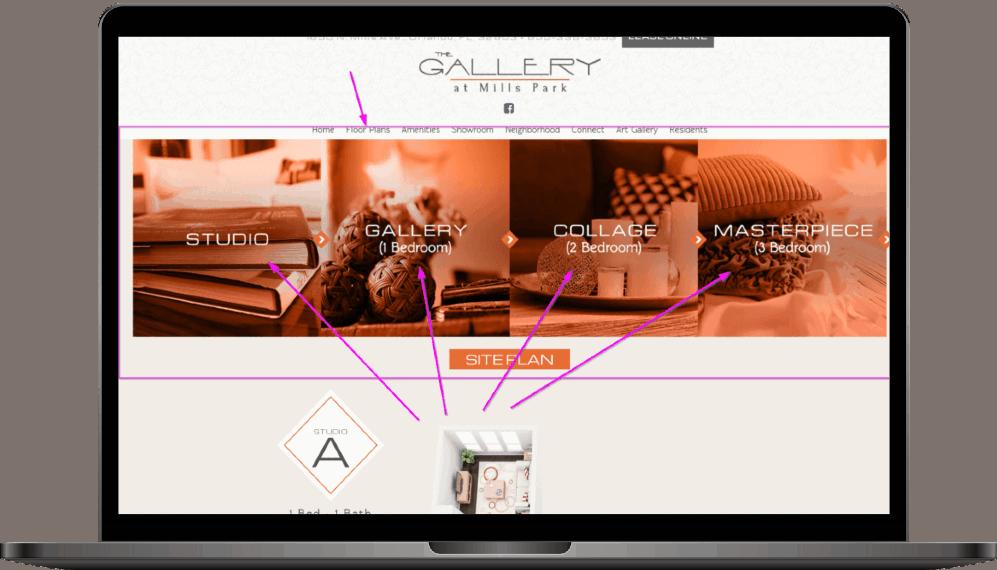 website complex design amenities
