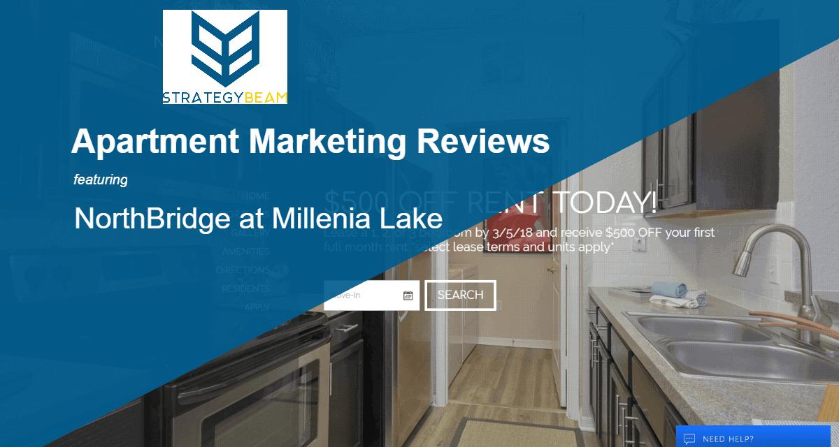 Apartment Marketing Reviews Northbridge At Millenia Lake