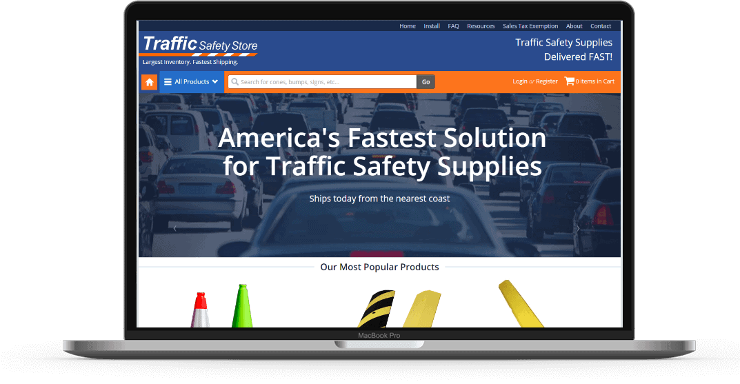 traffic safety store seo strategy online marketing strategybeam