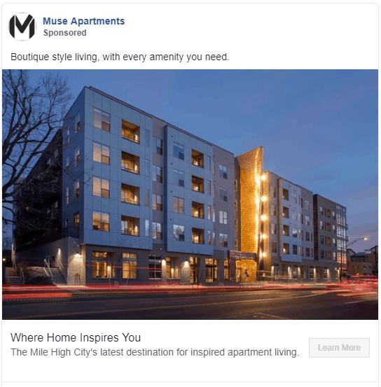 apartment marketing ideas facebook remarketing