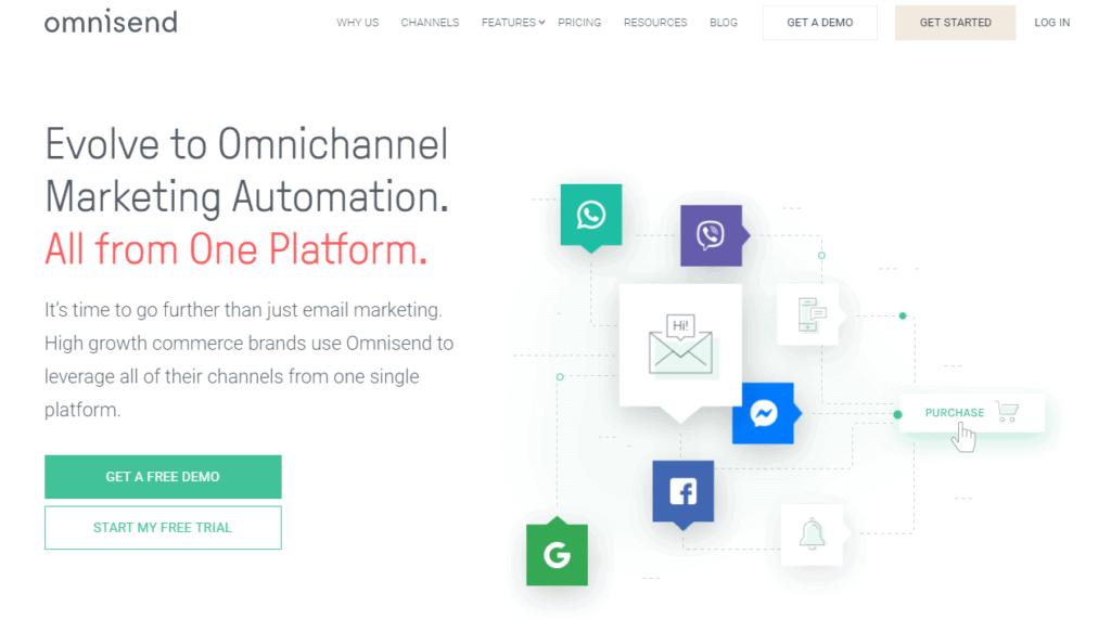omnisend online marketing tools