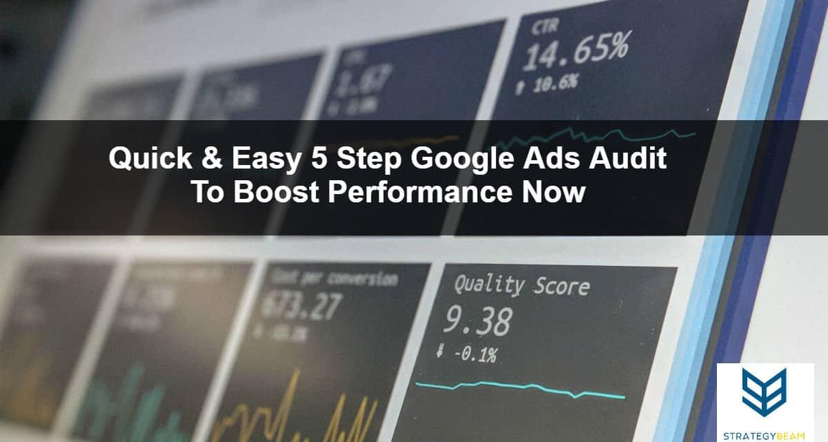 ppc audit google adwords management