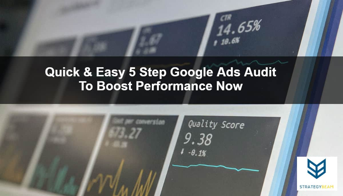 ppc audit google adwords management