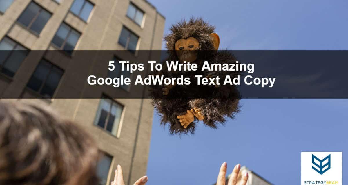google adwords text ad copywriting tips
