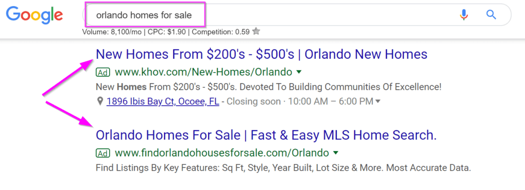 real estate marketing ideas google adwords