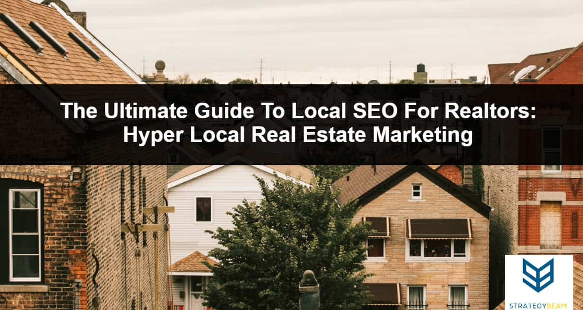 real estate marketing local seo real estate agent marketing