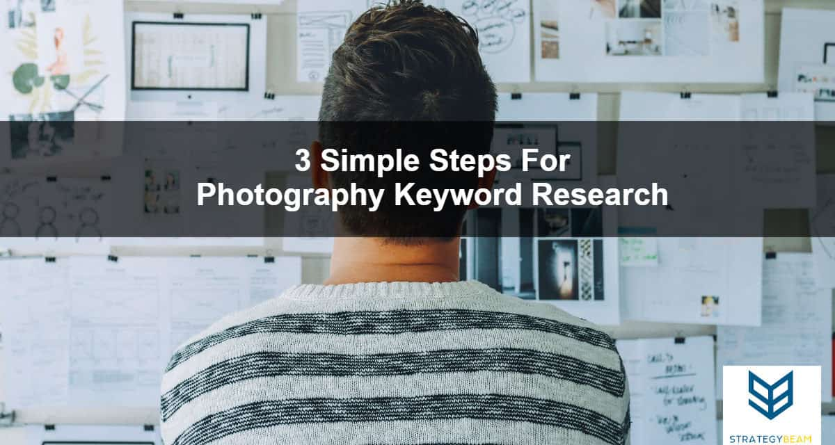simple keyword research for photographers