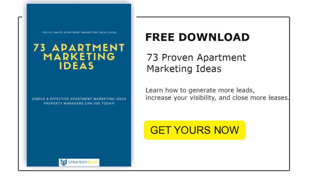 property managers apartment marketing ideas