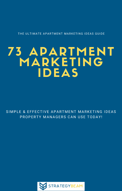 apartment marketing ideas guide cover