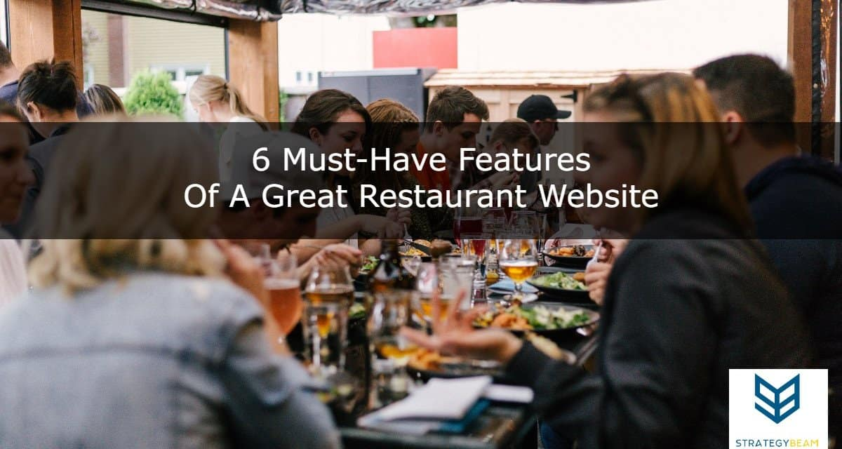 6 must-have features of a great restaurant website