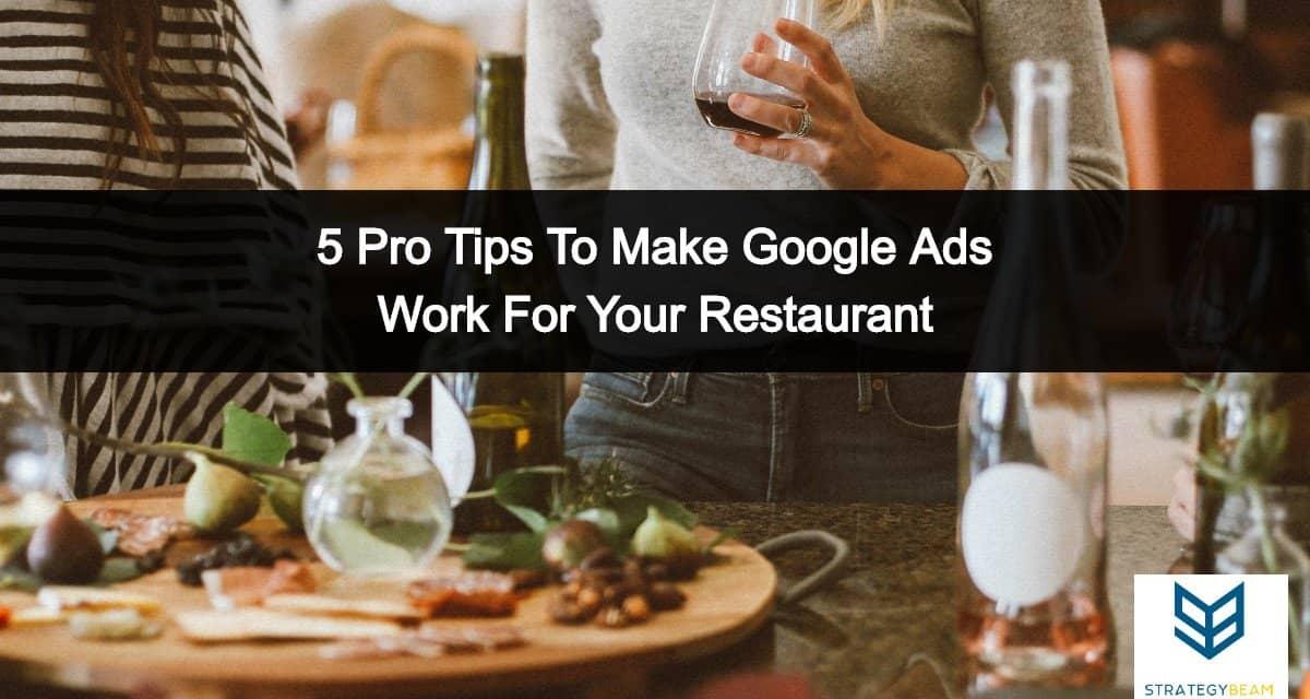 google ads for restaurants ads