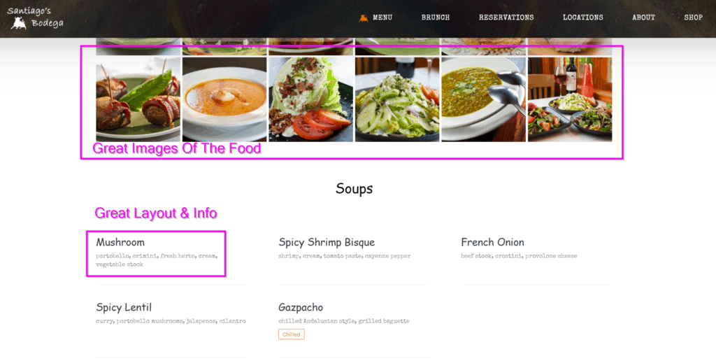 restaurant website ideas what to include on your restaurant website