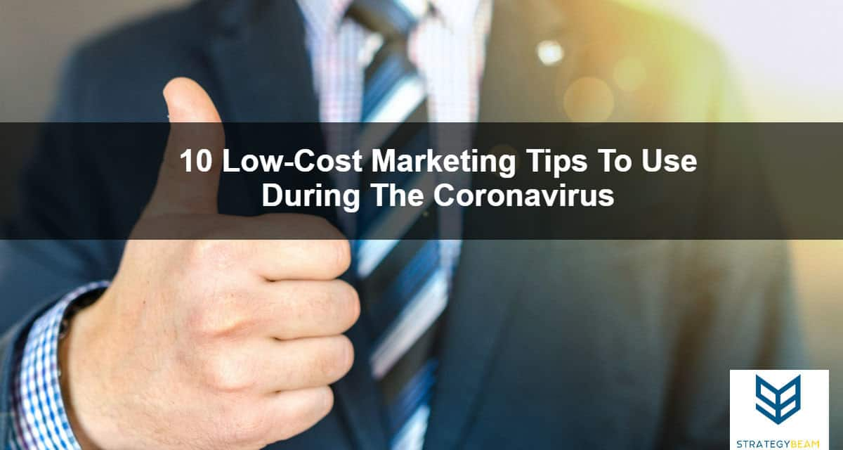 marketing ideas coronavirus