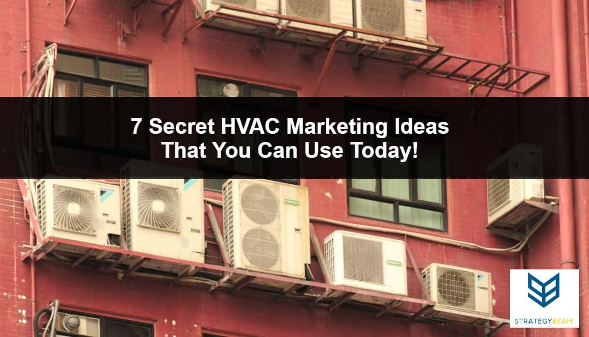 hvac marketing ideas to generate more hvac leads