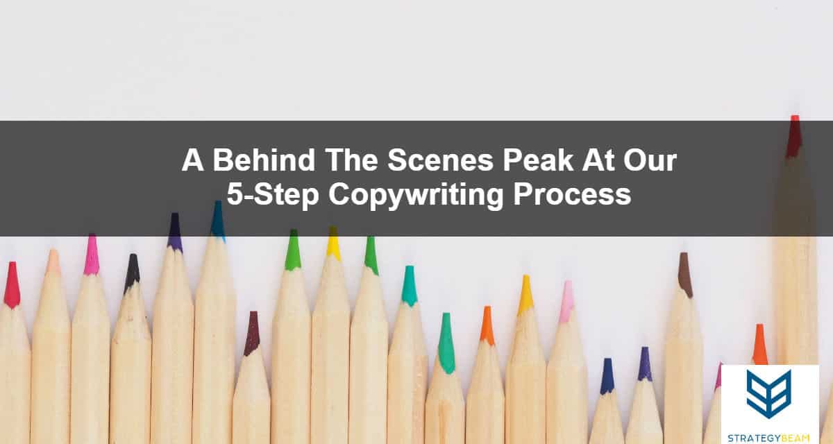 copywriting process our steps for copywriting process strategybeam