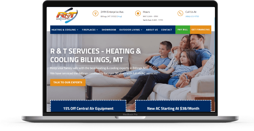 r and t services hvac marketing services
