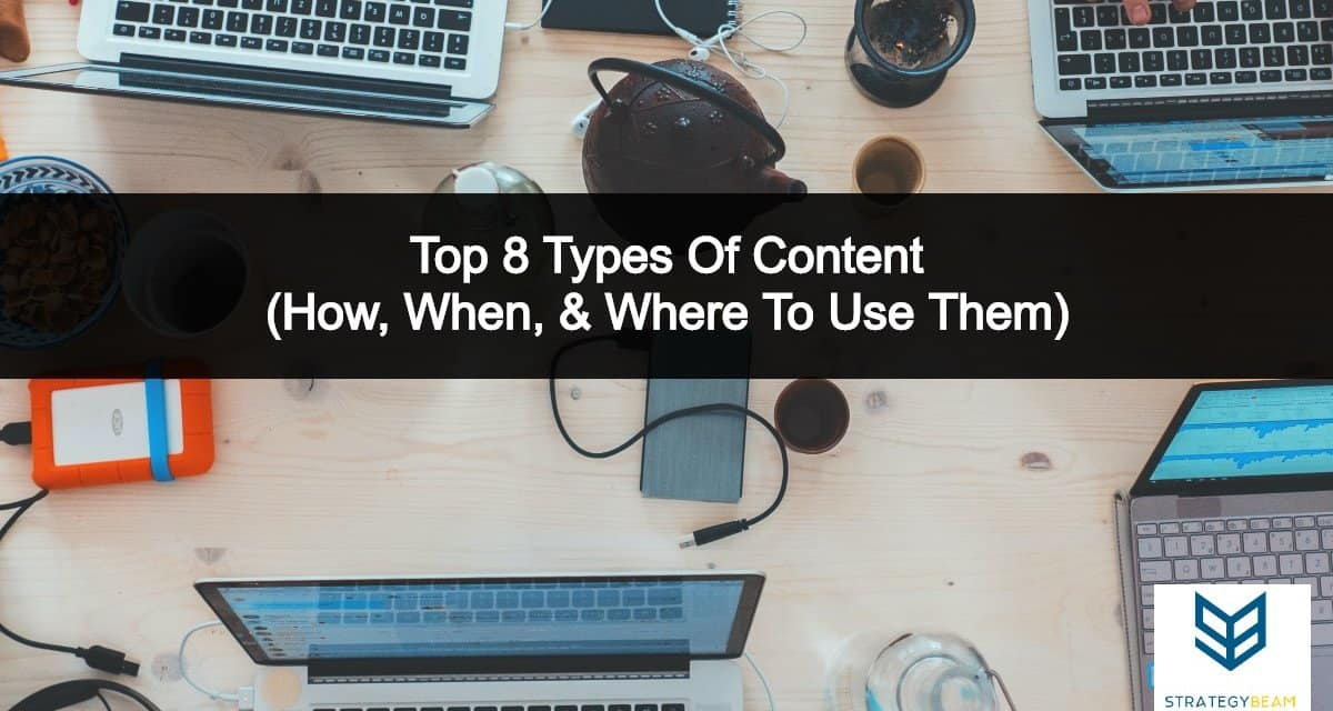 8 types of content forms content types strategybeam