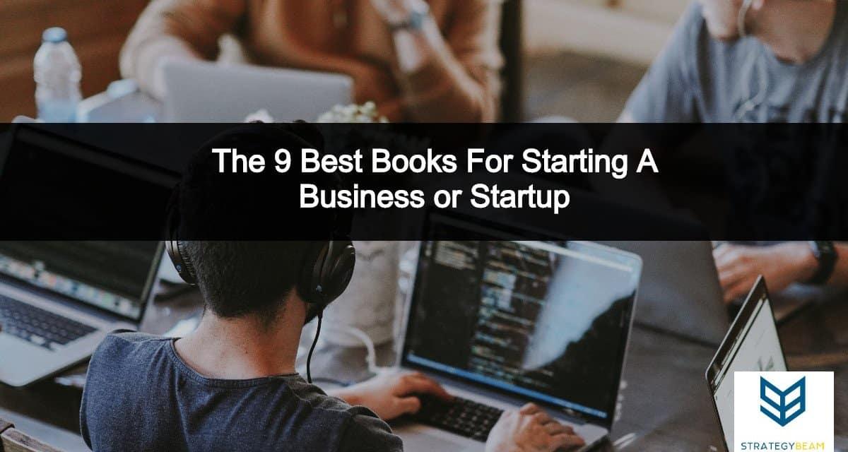 best business books start a business startup strategybeam