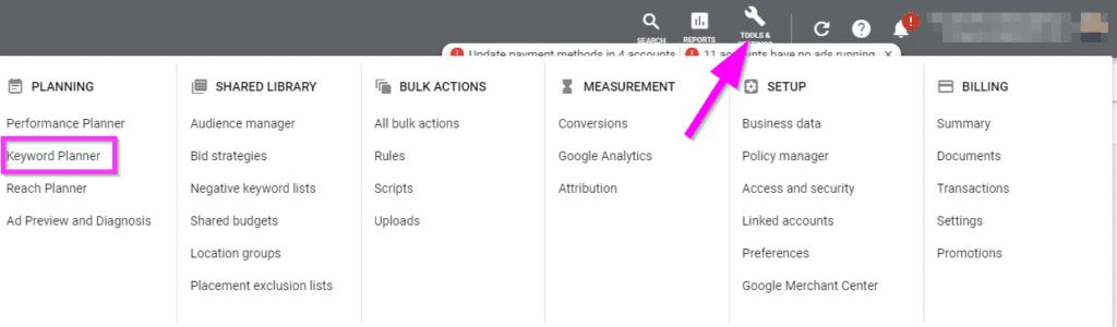 google ads optimization keyword research strategybeam