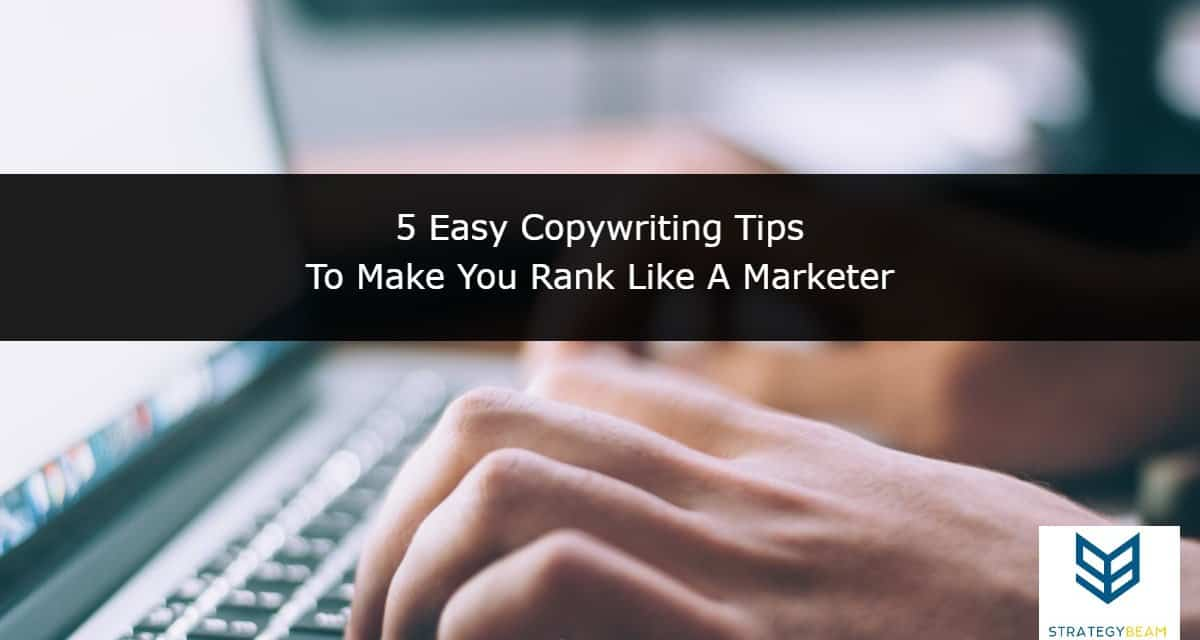 website copywriting tips web copy online marketing StrategyBeam