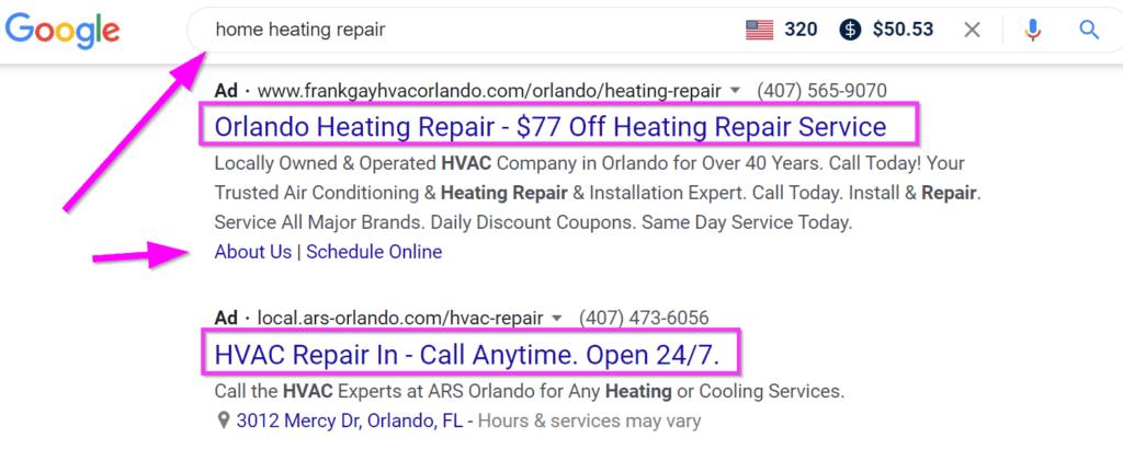 google ads hvac ads strategybeam