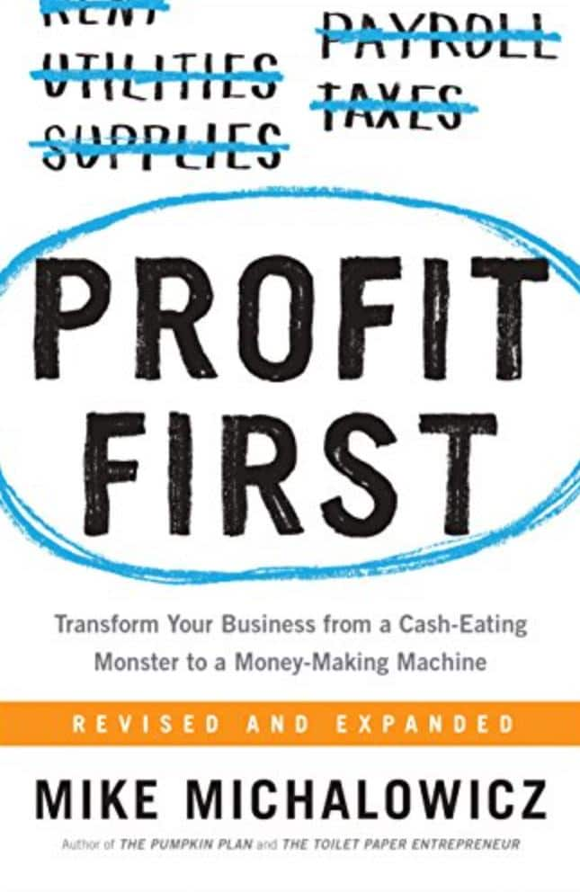 profit first best sales books small business owners