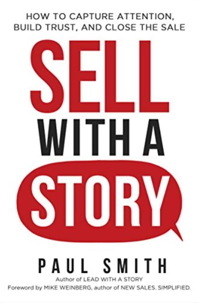 sell with a story entrepreneur sales books