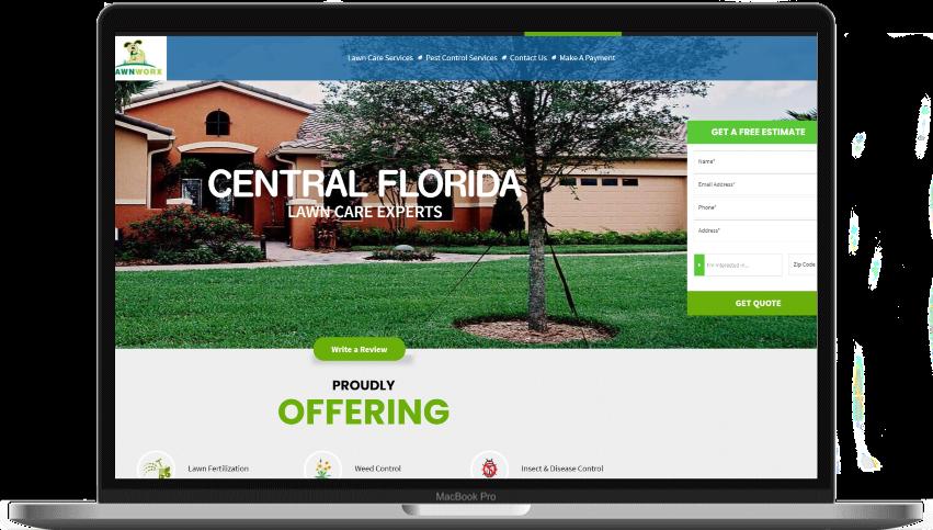 lawn care marketing website online marketing